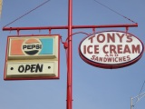 Tony's Ice Cream, Gastonia NC