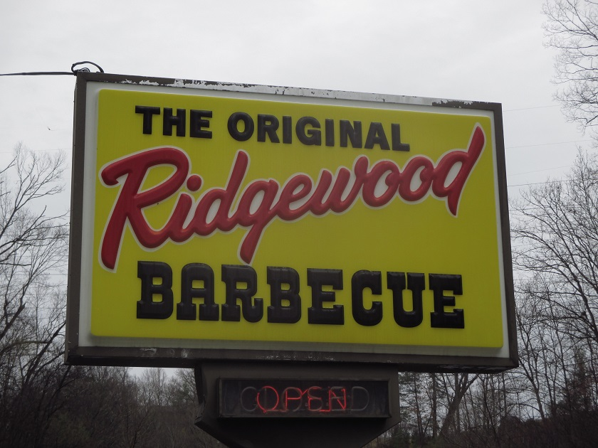 The Original Ridgewood Barbecue, Bluff City TN