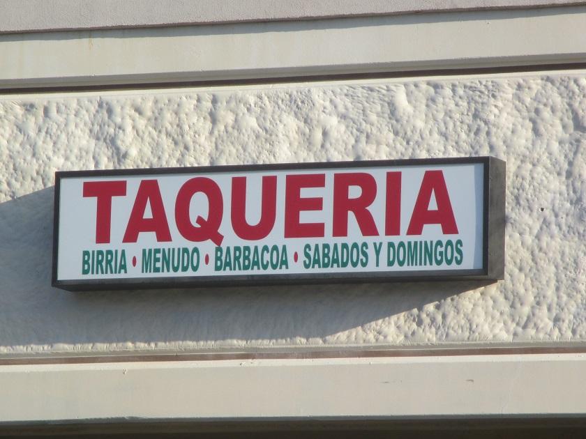 Taqueria Real de la Villa, MariettaGA