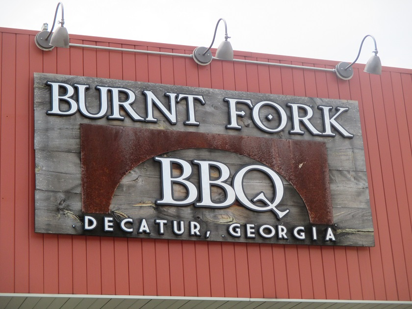 Burnt Fork BBQ, Decatur GA(CLOSED)