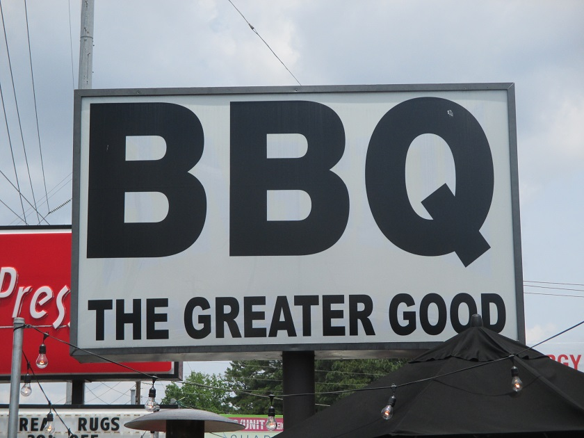 The Greater Good BBQ, Atlanta GA