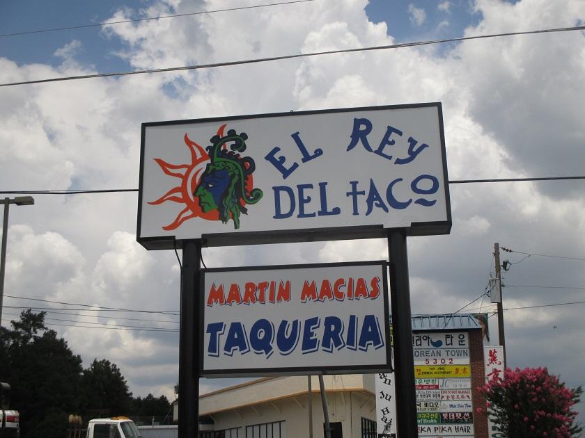 El Rey del Taco, Doraville GA (taketwo)