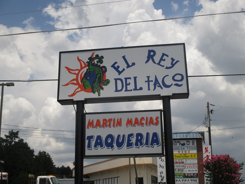 El Rey del Taco, Doraville GA (take two)