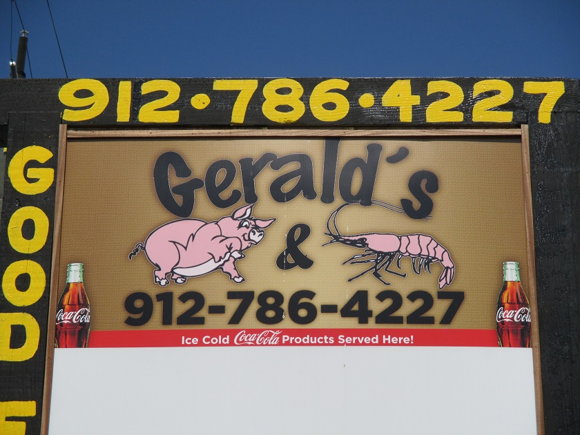 Gerald's Pig and Shrimp, Tybee Island GA