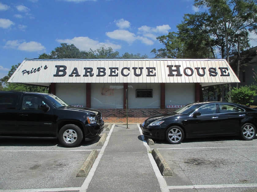 Price's Barbecue House, Auburn AL (CLOSED)