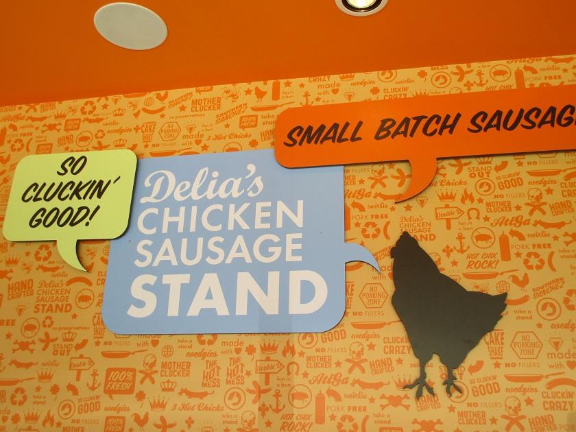 Delia's Chicken Sausage Stand, AtlantaGA