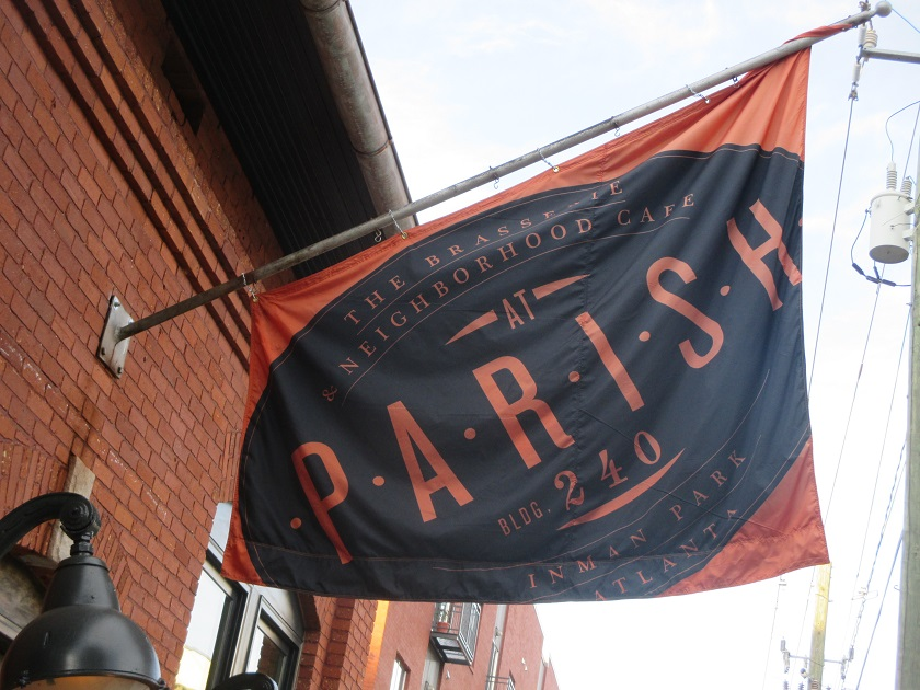 The Brasserie & Neighborhood Cafe at Parish, Atlanta GA