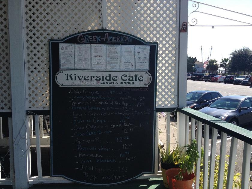 Riverside Cafe, St. MarysGA