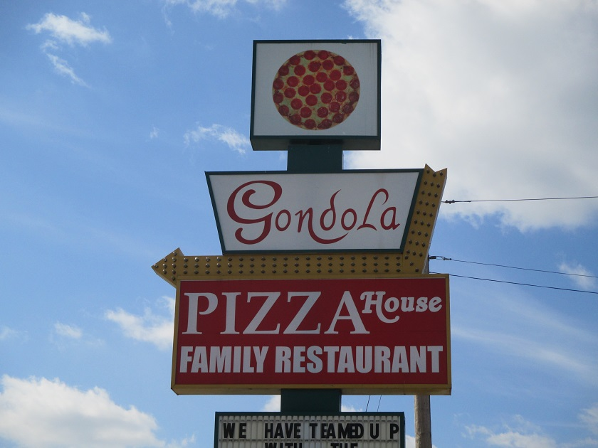 Gondola Pizza House, TullahomaTN