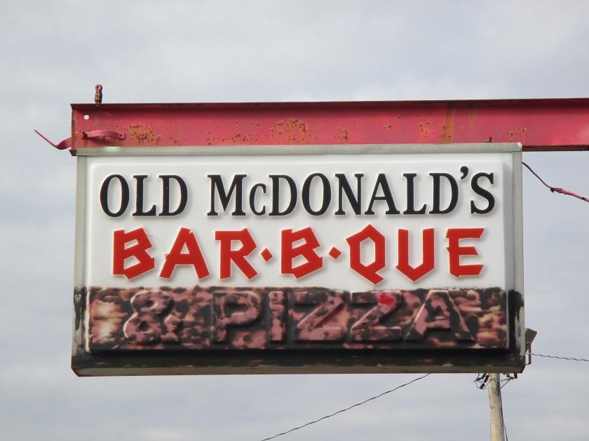Old McDonald's Bar-B-Que, Buford GA(CLOSED)