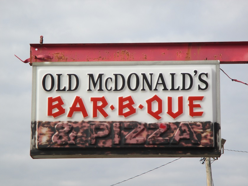 Old McDonald's Bar-B-Que, Buford GA (CLOSED)