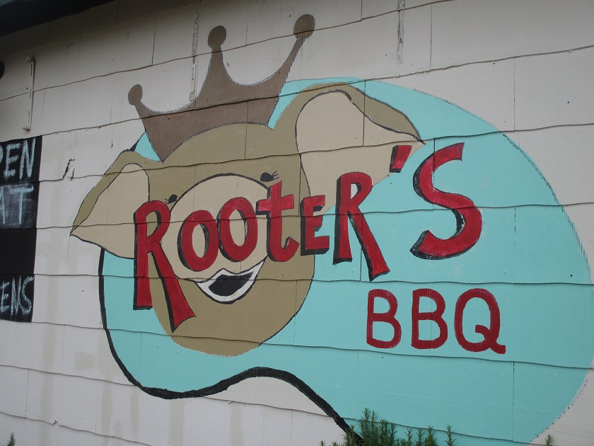 Rooter's BBQ, Athens GA (CLOSED)