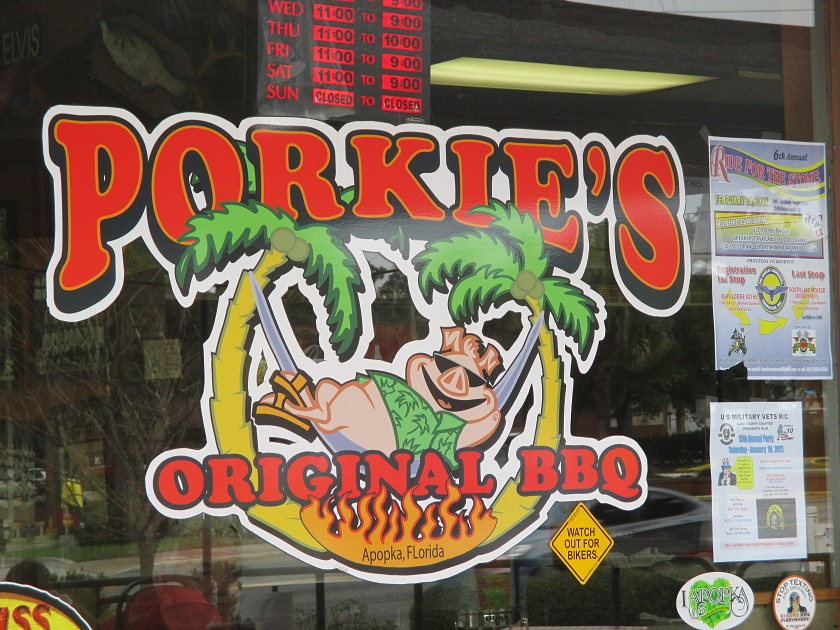 Porkie's Original BBQ, ApopkaFL