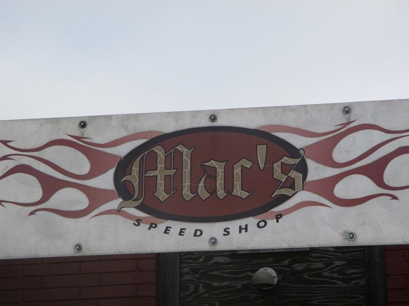 Mac's Speed Shop, CharlotteNC