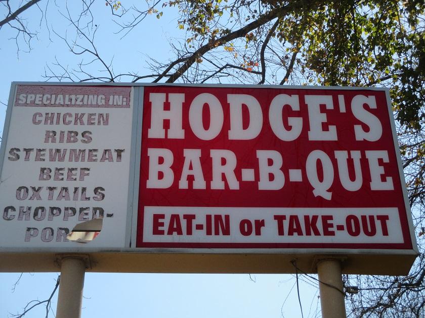 Hodge's Bar-B-Que, DecaturGA