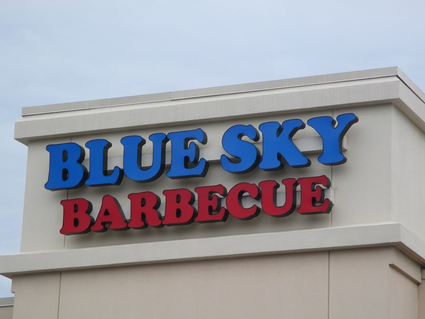 Blue Sky Barbecue, Woodstock GA (CLOSED)