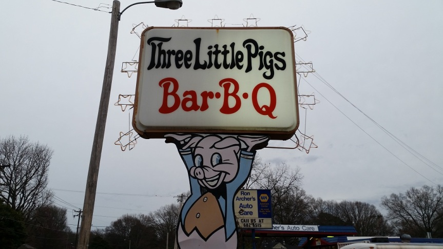 Three Little Pigs Bar-B-Q, MemphisTN