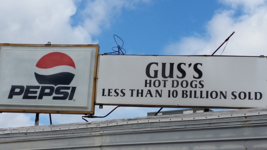Gus's Hot Dogs, Adamsville AL
