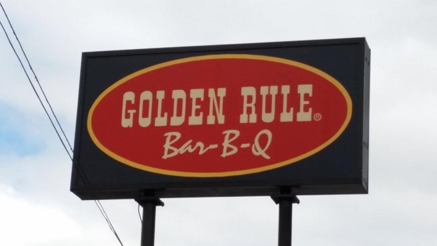 Golden Rule Bar-B-Q, IrondaleAL