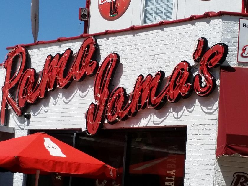 Rama Jama's, TuscaloosaAL