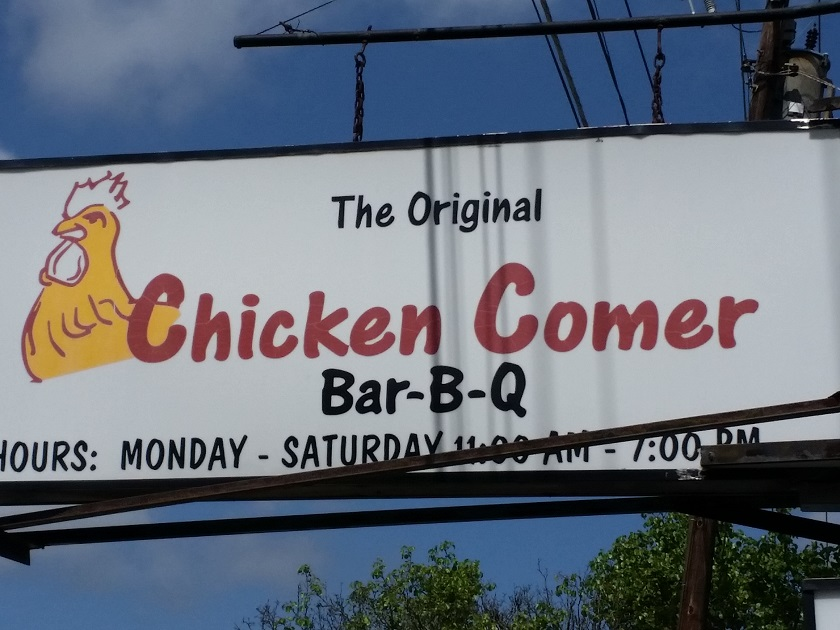 Chicken Comer, Columbus GA