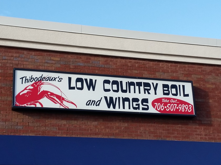 Thibodeaux's Low Country Boil and Wings, Columbus GA