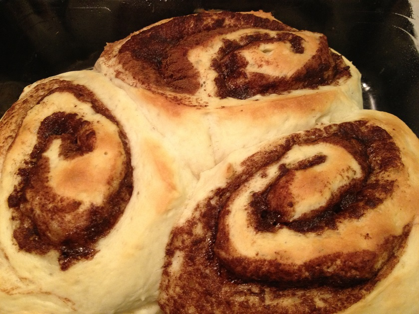 Food From Fiction 7: Sunshine's CinnamonRolls