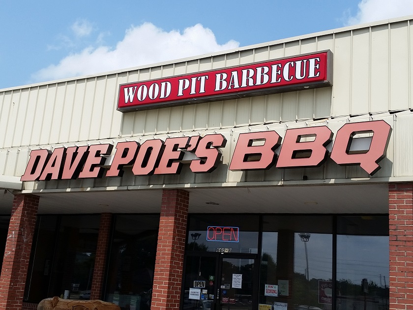Dave Poe's BBQ, Marietta GA (taketwo)