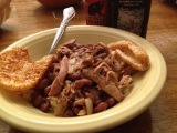 Penzeys Nicaraguan-style Red Beans with Pulled Chicken