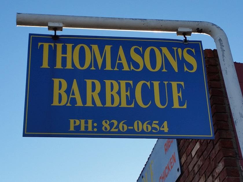 Thomason's Barbecue, HendersonKY