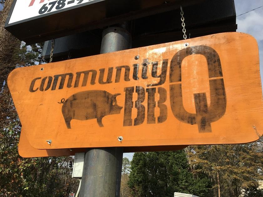 Community Q BBQ, Decatur GA (taketwo)