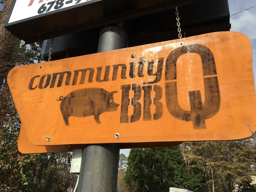 Community Q BBQ, Decatur GA (take two)