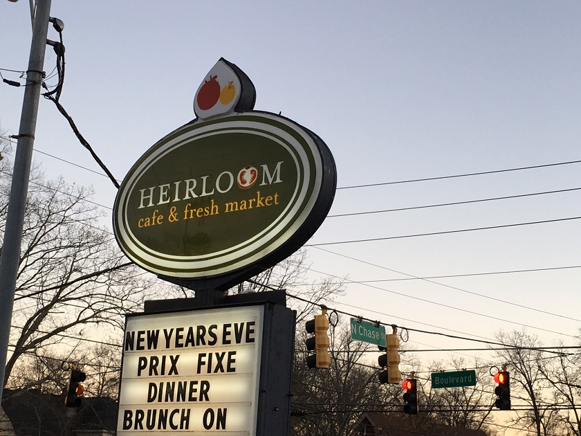 Heirloom Cafe and Fresh Market, Athens GA