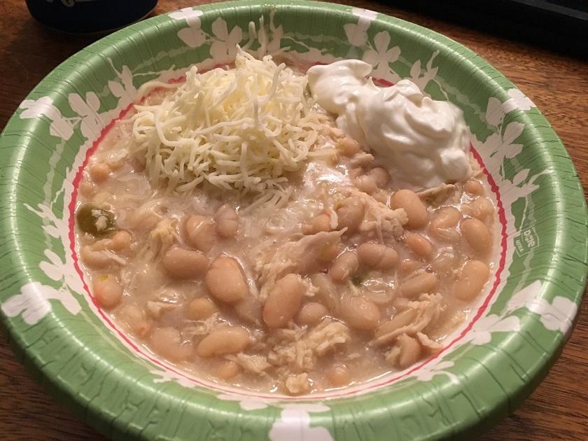 Grandma's White ChickenChili