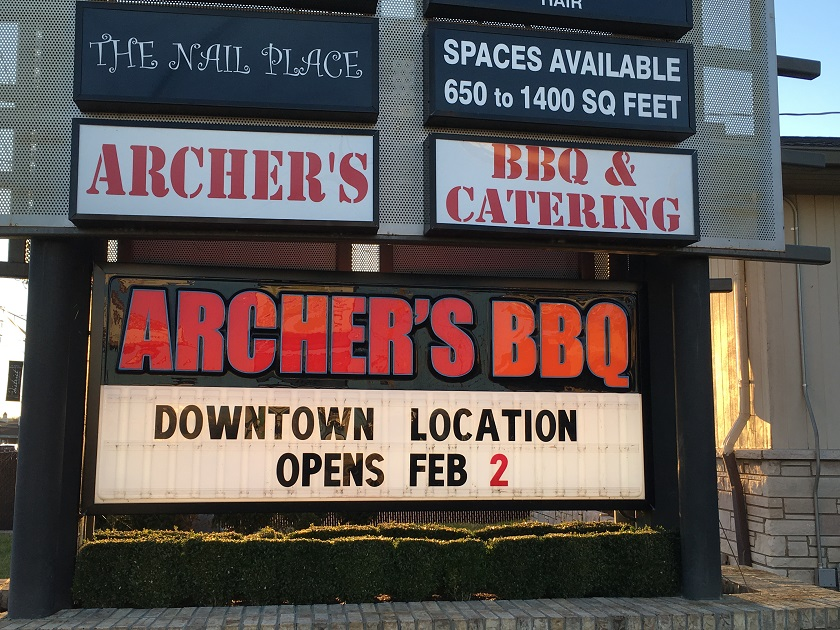 Archer's BBQ, Knoxville TN