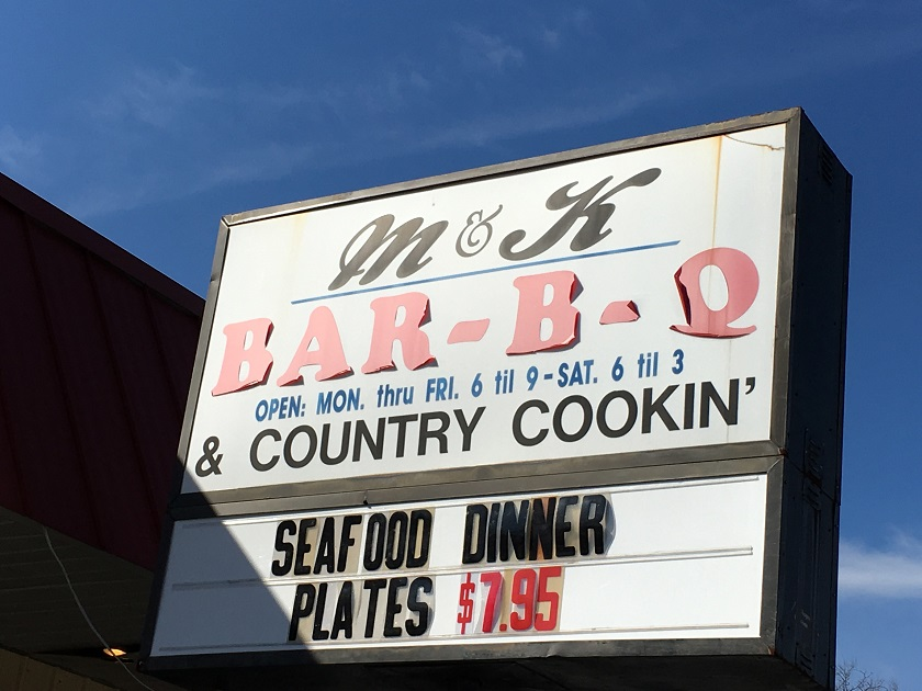 M & K Bar-B-Q, Granite Quarry NC