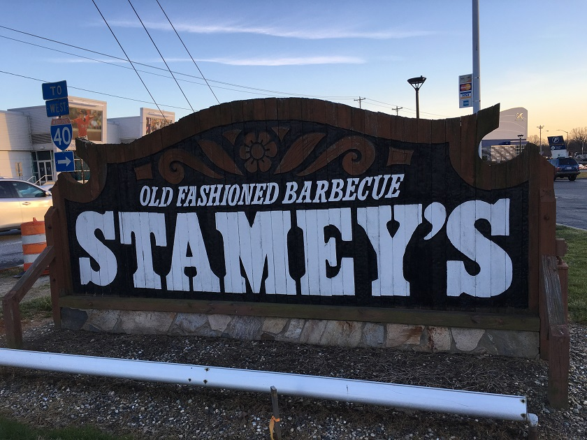 Stamey's Barbecue, Greensboro NC