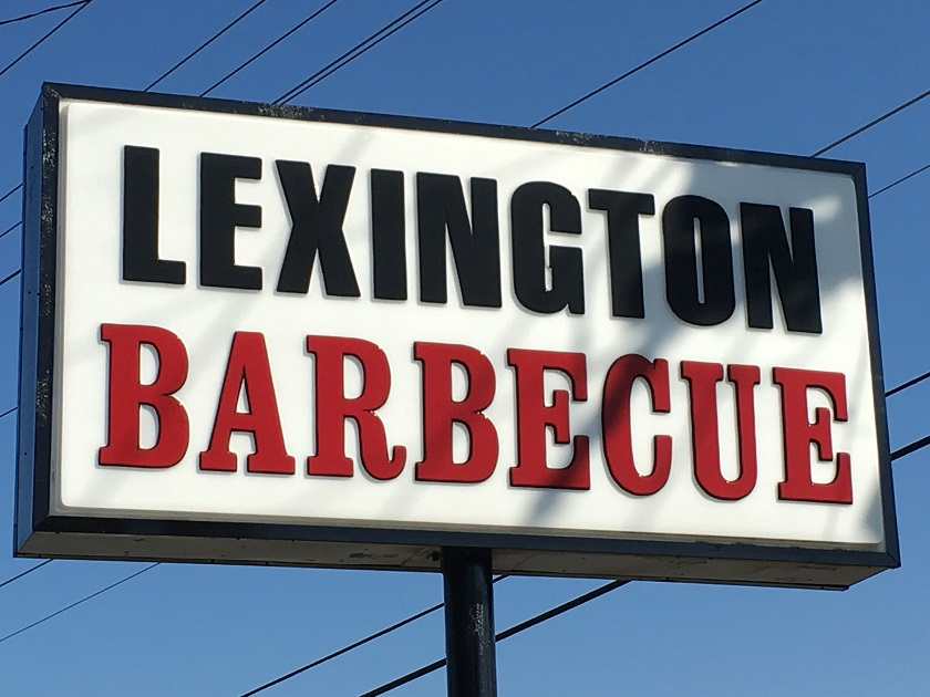 Lexington Barbecue, Lexington NC (take two)