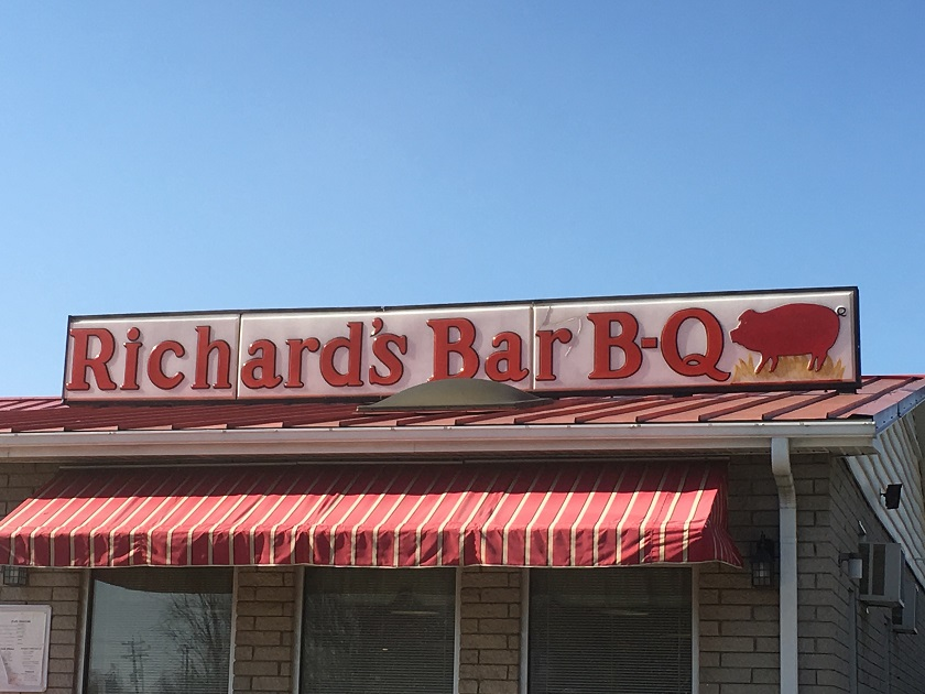 Richard's Bar-B-Q, Salisbury NC