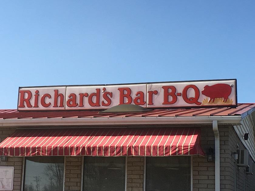 Richard's Bar-B-Q, SalisburyNC