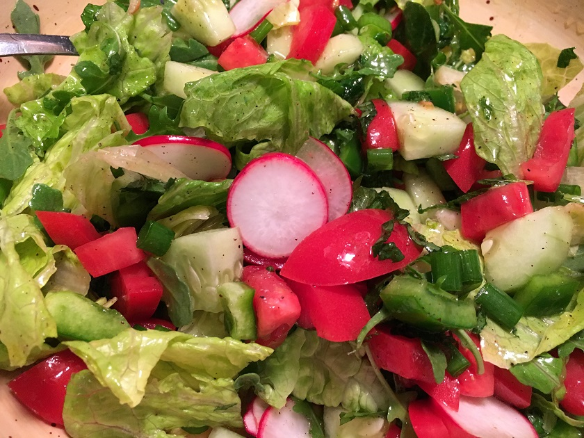 Fattoush with Too Much Lemon!