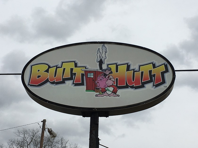The Butt Hutt, Athens GA (take two)