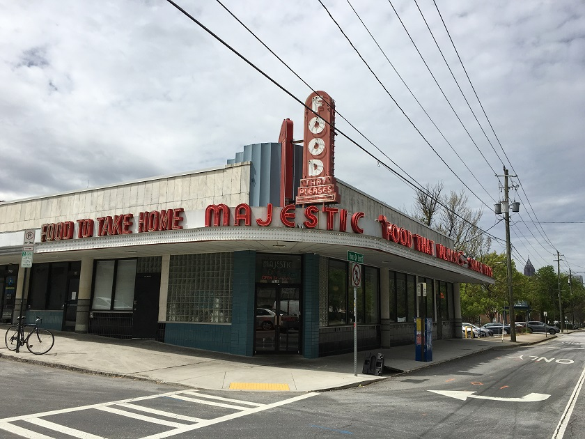Majestic Diner, Atlanta GA (take two)