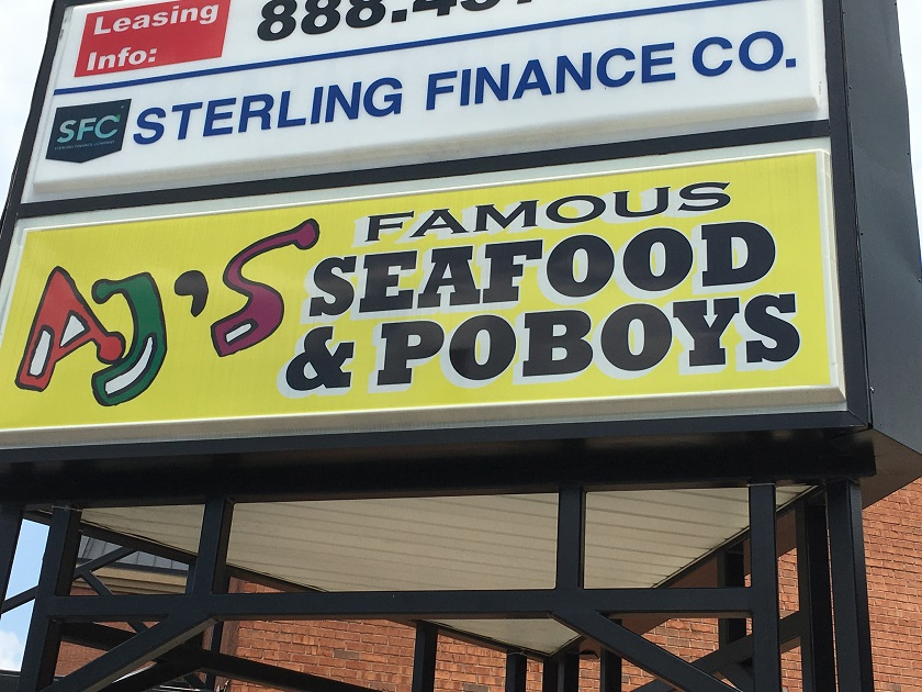 AJ's Famous Seafood and Po-Boys, Marietta GA (take two)