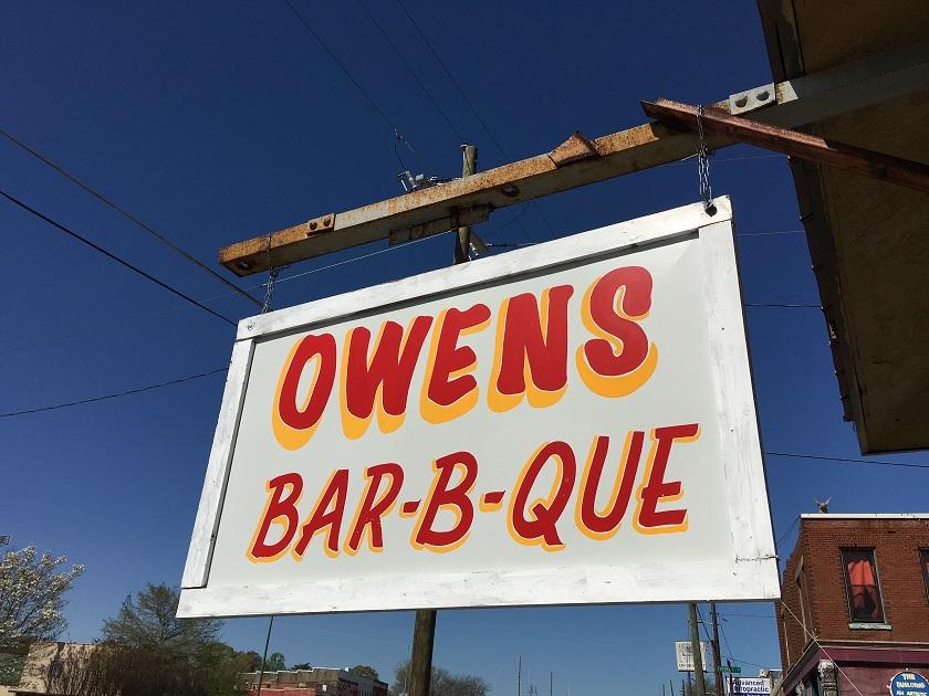 Owens Bar-B-Que, TallapoosaGA