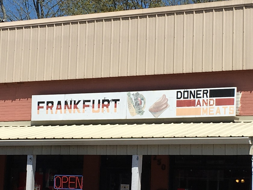 Frankfurt Döner & Meats, Ball Ground GA