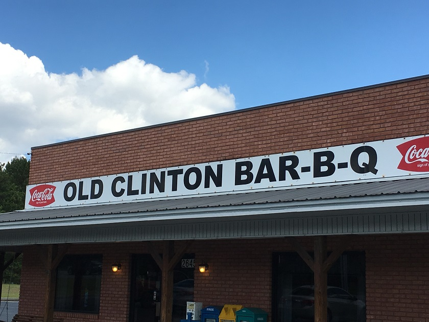 Old Clinton Bar-B-Q, Milledgeville GA
