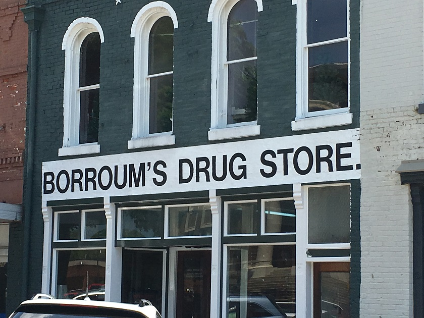 Borroum's Drug Store, Corinth MS