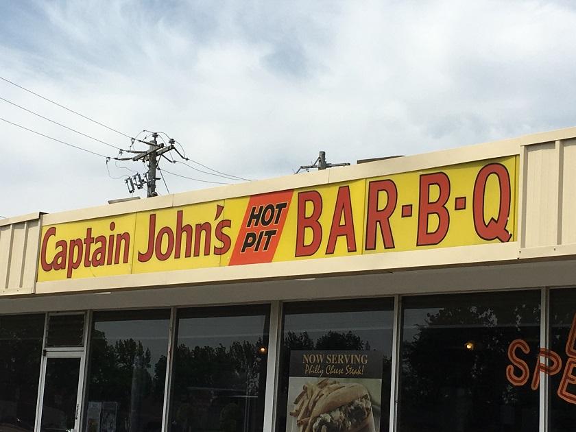 Captain John's Hot Pit Bar-B-Q, ColliervilleTN