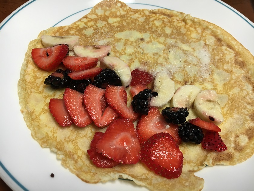 Food From Fiction 9: Amazing Amy's Brown Butter Crepes
